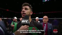 Confira a entrevista de Yair Rodríguez no octógono do UFC Phoenix