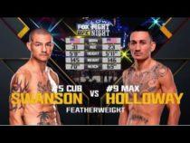 UFC 212 Free Fight: Max Holloway vs Cub Swanson