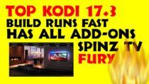 How To Install   SPINZ TV FURY Reloaded Kodi Build   Kodi 17.3 Best Krypton Build